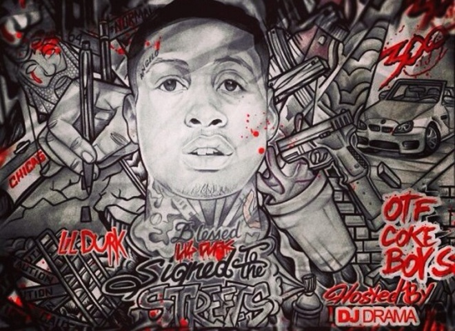 lil durk signed to the streets